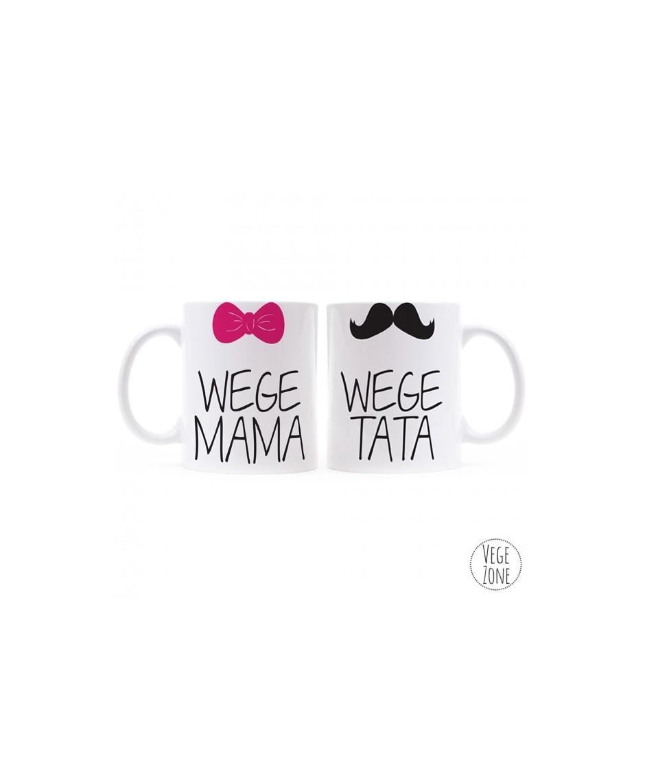 Wege Mama & Wege Tata - kubek dla niej i dla niego