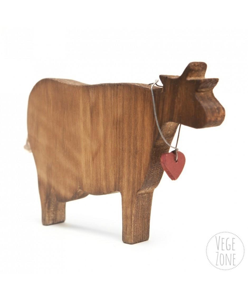 [ZWIERZAKI] - Brązowa krowa