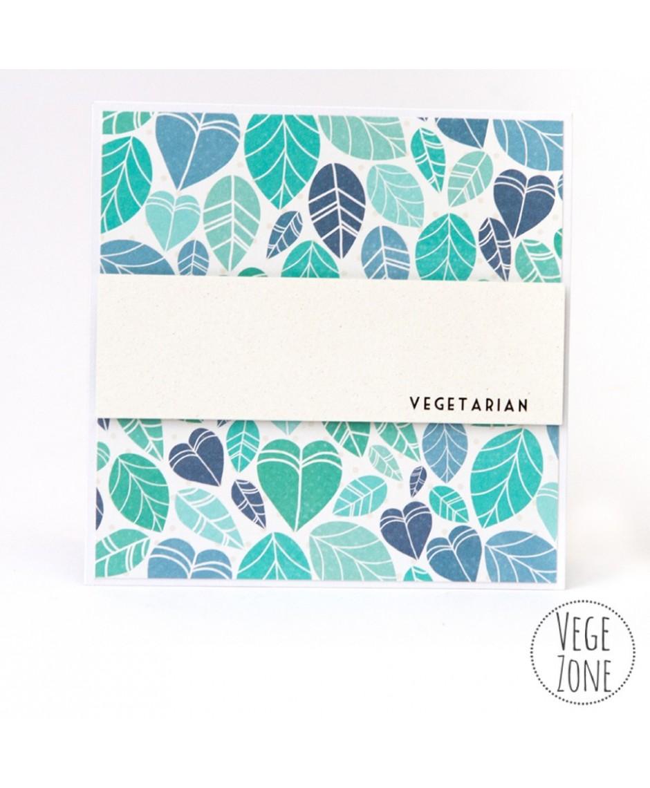 Kartka - Vegetarian