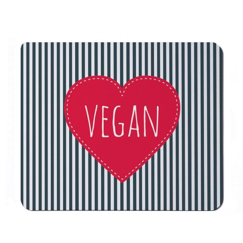 Podkładka pod mysz prostokątna - Vegan power