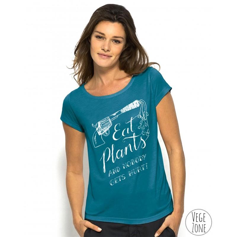 Eat Plants - Koszulka damska (Stella Glows)
