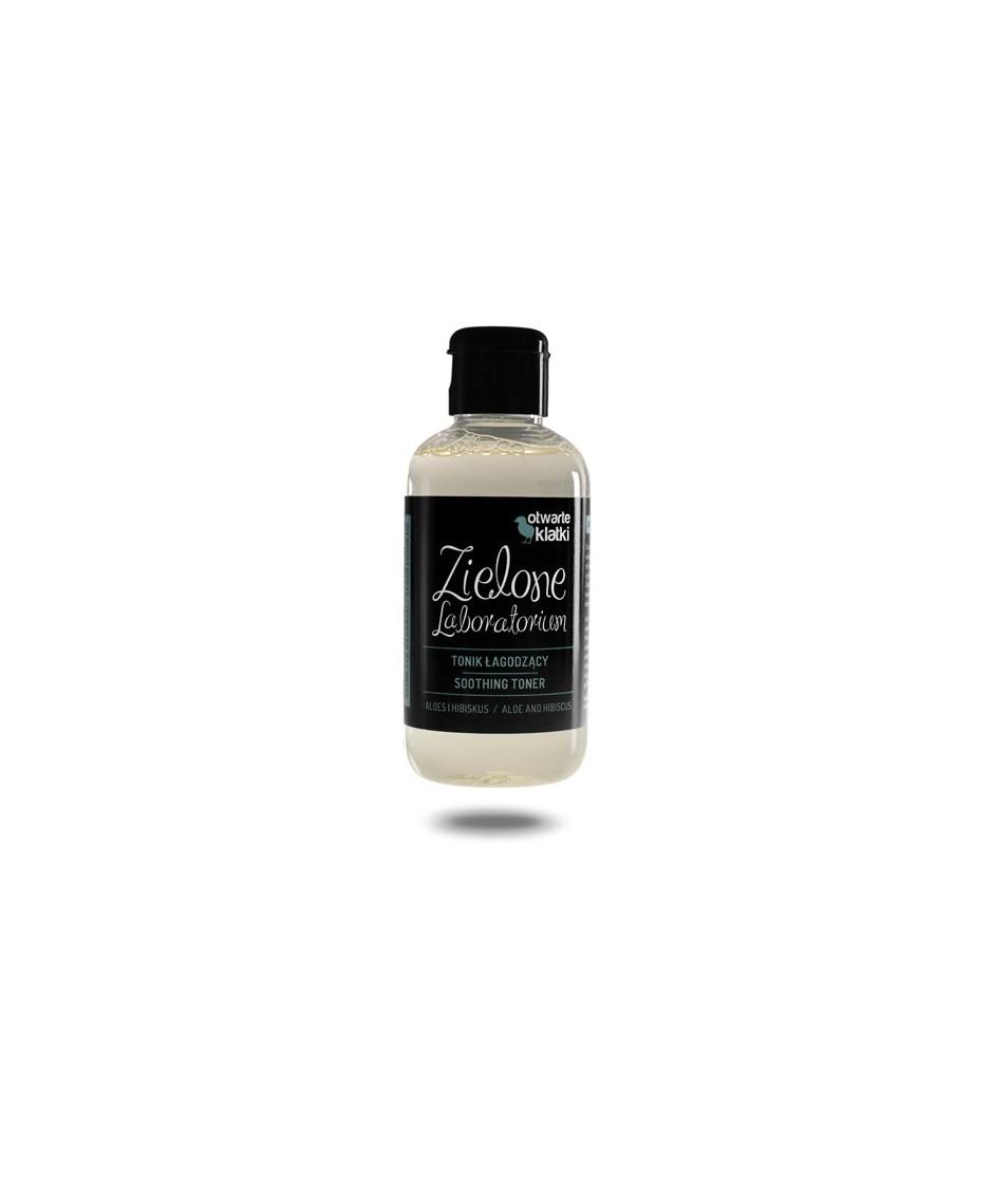 Tonik łagodzący aloes i hibiskus Zielone Laboratorium 150 ml