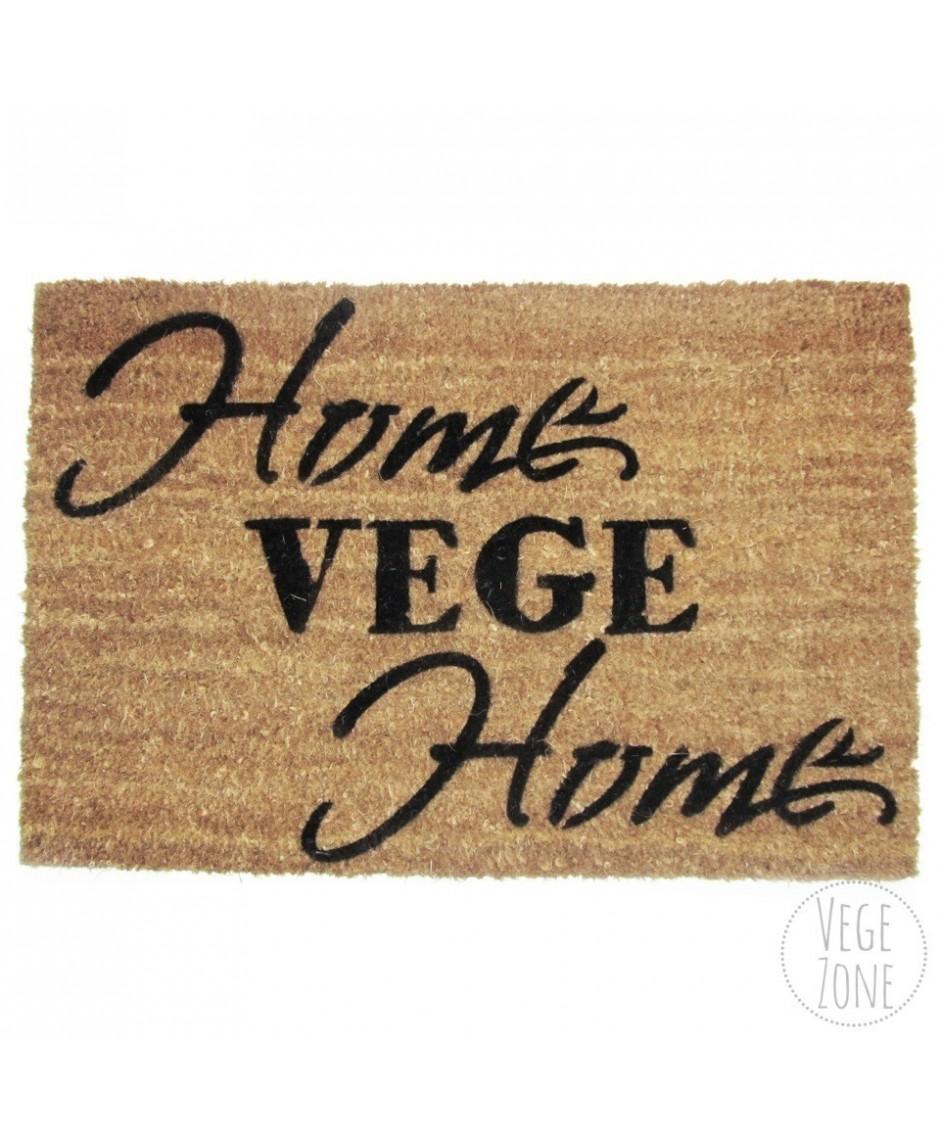 """Wycieraczka """"Home VEGE Home"""""""