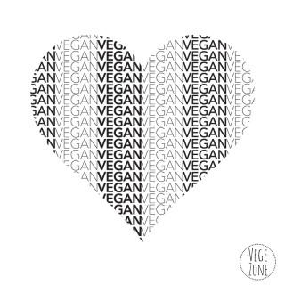 Koszulka damska Organic -T Fashion - Vegan Heart - Promodoro